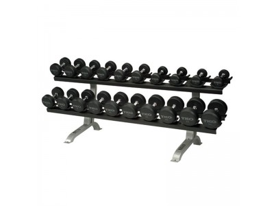 10 PAIR DUMBBELL RACK W/ SADDLES
