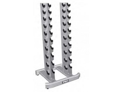 10 PAIR VERTICAL DUMBBELL RACK