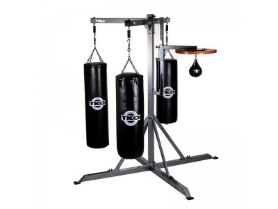 4-STATION COMMERCIAL BAG STAND