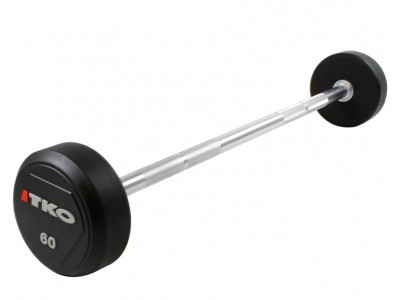 20 - 110 LB TKO URETHANE STRAIGHT BAR SET
